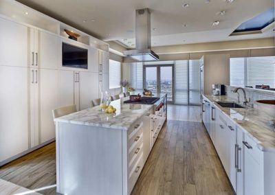 1706 Rittenhouse Kitchen with large central island