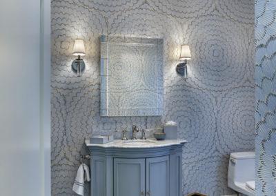 Lower Gwynedd Estate bathroom