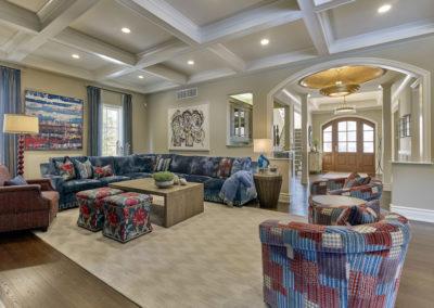 Lower Gwynedd Estate living room