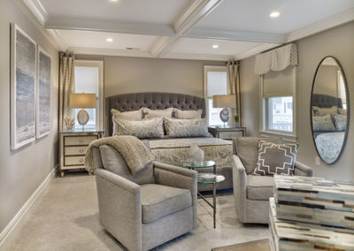 Margate Beach House bedroom with sitting area
