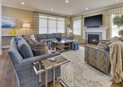 Margate Beach House living room