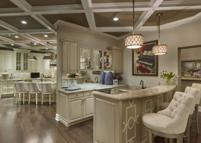 Voorhees Residence kitchen and wet bar